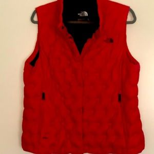 Northface cropped down vest